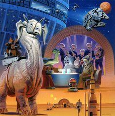 Star Wars by Ralph McQuarrie