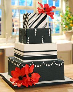 DIY Cake Decorating - Martha Stewart Weddings Cakes
