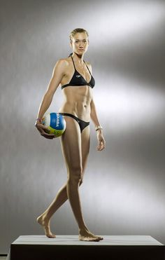 Kerri Walsh: US Beach volleyball. By far one of my favorite role models/inspirations. LOVE HER!