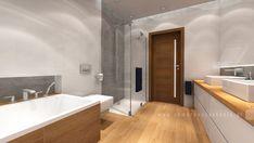 łazienka na poddaszu » Pomarańcze Studio