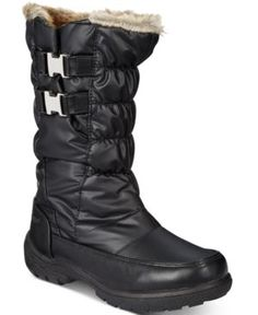 Weatherproof Mikayla Cold-Weather Boots - Black 10M