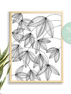 Black Pen Drawing, Black And White Art Drawing, Floral Drawing, Flower Pattern Drawing, Black And White Sketches, Drawing Flowers, Black And White Prints, Drawing Art, Black Print