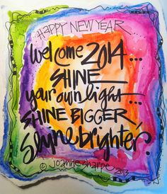 Whimspirations: ...for 2014...