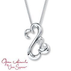 OBTAINED: Mother's Open Heart Necklace, from Kay Jewelers - LOVE IT!
