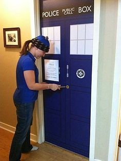 Creating a whole Doctor Who themed bedroom is a great way to show your love for your favorite Time Lord.