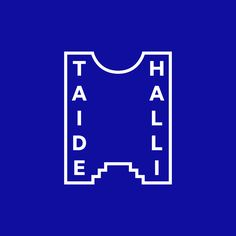 Logo designed by Tsto for Finnish contemporary art gallery Taidehalli.