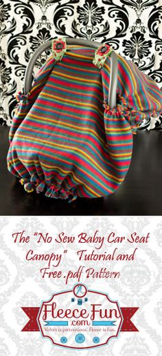 no sew baby canopy