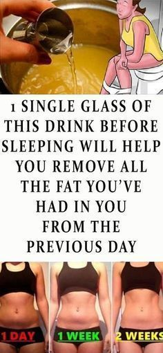 1 Single Glass Of This Drink Before Sleeping Will Help You Remove All The Fat You've Had In You From The Previous Day - better health Weight Loss Drinks, Weight Loss Tips, Losing Weight, Diet Drinks, Burn Belly Fat, Loose Weight, Body Weight, Get In Shape, Excercise