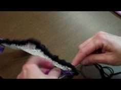 Beverly's Fabric Crafts shows you Part 2 of a beginner tutorial for locker hooking.