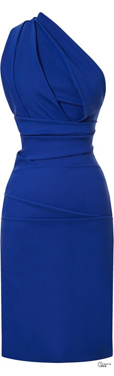 Adorable blue dress! women fashion outfit clothing style apparel @roressclothes closet ideas