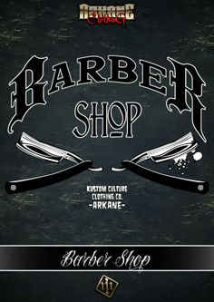 BARBER SHOP Design - MMXIII Jeans Hair Style, Tony Barber, Barber Sign, Mobile Barber, Barber Tattoo, Barber Apron, Barbershop Design, Sign Writing, E Tattoo