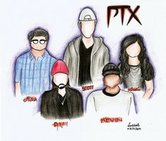 Pentatonix fan art by Scrumoliz on DeviantArt