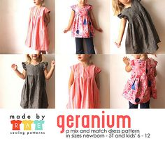 made by rae geranium dress sewing pattern | Buy The Pattern … | Rae | Flickr