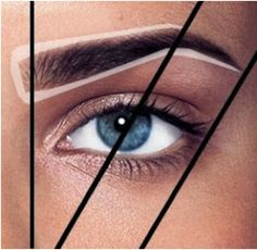 Eyebrow tutorial. I wish all women would adhere to this guide.