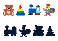 Найди тень от игрушки, игра Toddler Learning Activities, Brain Activities, Writing Activities, Classroom Activities, Kids Learning, House Drawing For Kids, Animal Movement, Cartoon Toys, Baby Development