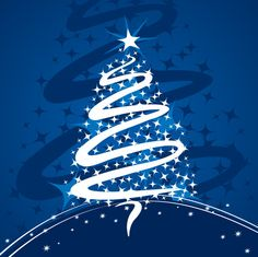 #Christmas #Tree #vector #graphic by #DryIcons.com.