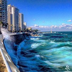 It's a beautiful morning in Beautiful Streets, Beautiful Places, Lebanon Culture, Travel Around The World, Around The Worlds, Beirut Lebanon, Beautiful Morning, Cool Photos, Amazing Photos