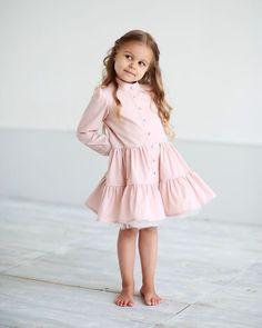 Зефирина ☺️...Платье-пуговки в пудровом цвете ,в наличии • Состав: 90% хлопок ,10% полиэстер (фатин). • Цена: 6000. • Размеры в наличии: 98,110. • Все вопросы и оформление заказа в W/A : +79126365902 или Direct . #miko_D0006 #conceptkidswear #forkids #withlove #miko_kids #❤️ #платьядлядевочек