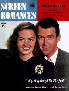 Jimmy Stewart and Donna Reed