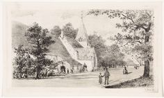 Elias Stark   Grote Kerk te Vreeland, Elias Stark, 1887   De Grote of Sint Nicolaaskerk te Vreeland.