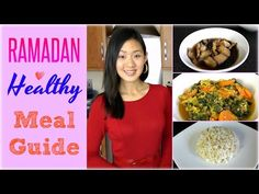 Healthy RAMADAN Food Recipes - YouTube | Such a great video!! A must watch for all muslims to maintain healthy eating during Ramadan.
