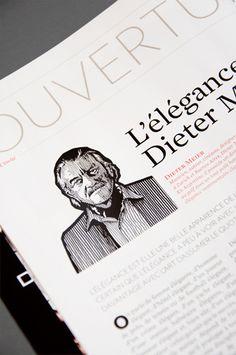 Bilan Luxe, magazine - illustration: NZ