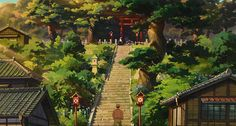 43 Of The Most Impossibly Beautiful Shots In Studio Ghibli History Studio Ghibli Art, Studio Ghibli Movies, Hayao Miyazaki, Totoro, Animal Crossing, Up On Poppy Hill, Studio Ghibli Background, Persona Anime, Anime Scenery Wallpaper