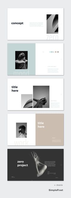 ZERO Keynote Template is a clean presentation to Show your Portfolio & Ideas. This is the right business portfolio presentation for every creator, designer, Layout Design, Graphisches Design, Buch Design, Slide Design, Flat Design, Presentation Board Design, Portfolio Presentation, Project Presentation, Ppt Presentation