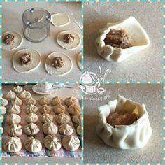 Dumplings, Icing, Food And Drink, Pudding, Vegetables, Eat, Desserts, Pierogi, Recipes