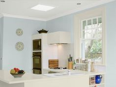 Cozinha com cores Coral