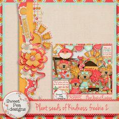 Scrapbooking TammyTags -- TT - Designer - Sweet Pea Designs, TT - Item - Border, TT - Style - Cluster