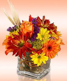 Autumn Bouquet by City Line Florist #TrumbullFlorist