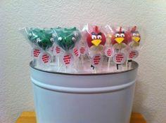 Angry Bird Cake Pops #wiltoncontest