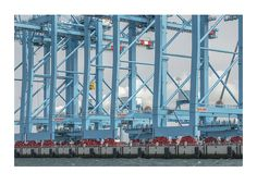 construction of deep-sea harbor • maasvlakte2 • rotterdam © rené spalek | photography | www.spalek.com