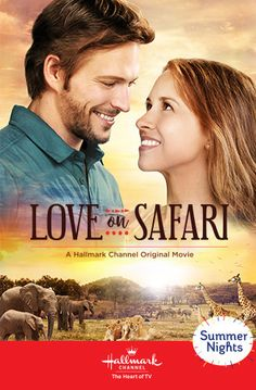 """Travel with us and Kira Slater (Hallmark sweetheart Lacey Chabert) to far-off places and """"Fall in """"Love on Safari."""" This original love story was filmed on-location in South Africa and premieres on July 28 at on Hallmark Channel! Películas Hallmark, Hallmark Movies, Love Movie, Movie Tv, Hallmark Movie Channel, Christmas Movies On Tv, Lacey Chabert, Bon Film, Lifetime Movies"""
