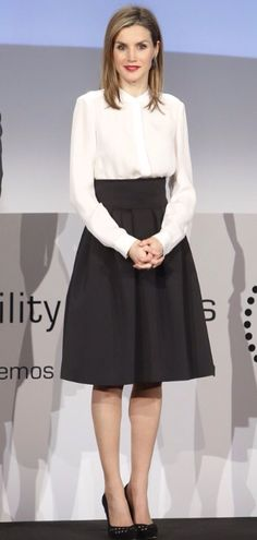 Queen Letizia hosted the Telefonica Ability Awards 1/12/2015