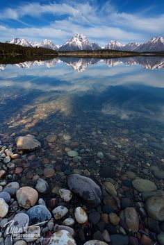 Morning at Jackson Lake, Grand Teton National Park, Wyoming