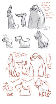 51 Super ideas for line art drawings animals animation Character Design Cartoon, Character Design References, Character Drawing, Character Design Inspiration, Character Design Tips, Character Design Tutorial, Character Design Animation, Animal Design, Dog Design