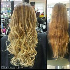 Antes e depois #hair #hairstyle #blond #blondhair #loirodossonhos #redken #tratamento