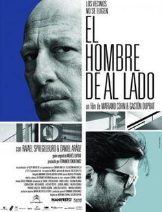 *Pendiente  El hombre de al lado, película argentina (conexión con Creepy)