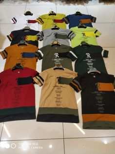 Polo T Shirts, Boys Shirts, Colour Chart, Coffee Photography, Men Clothes, Sport Wear, Kids Boys, Kids Outfits, Kids Fashion