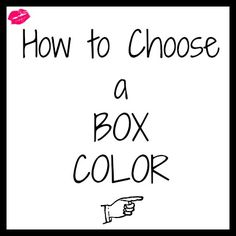 How to Choose a Box Color