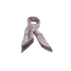 LENÇO MINI FLORES ROSA #lenços #lenço #scarf #scarfs