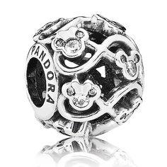 Pandora Disney Minnie & Mickey Infinity Charm OUT OF STOCK - NO ETA
