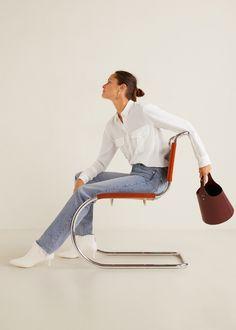 Mango Bucket Bag - Burgundy One Size Style Photoshoot, Fashion Model Poses, Estilo Fashion, How To Pose, Fashion Studio, Spring Summer Fashion, Bucket Bag, Fashion Photography, Cool Style