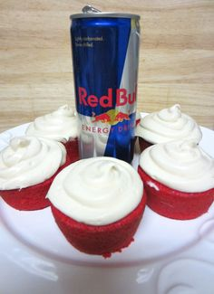 Red Bull Vodka Cupcakes 2
