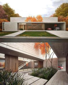 95 Examples Of Amazing Contemporary Flat Roof Design Of A House Modern House Exterior Amazing Contemporary design Examples Flat house roof Minimalist House Design, Minimalist Architecture, Modern Architecture House, Architecture Design, Modern House Design, Contemporary Design, Modern Buildings, Amazing Architecture, Flat Roof House Designs