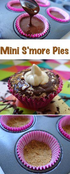 Gluten Free Mini S'more Pies
