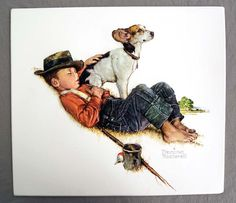 Vintage 1980's Norman Rockwell Adventures by unbelievablefinds
