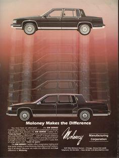 1987 Cadillac Deville Limousine  Moloney Coach Builders AD